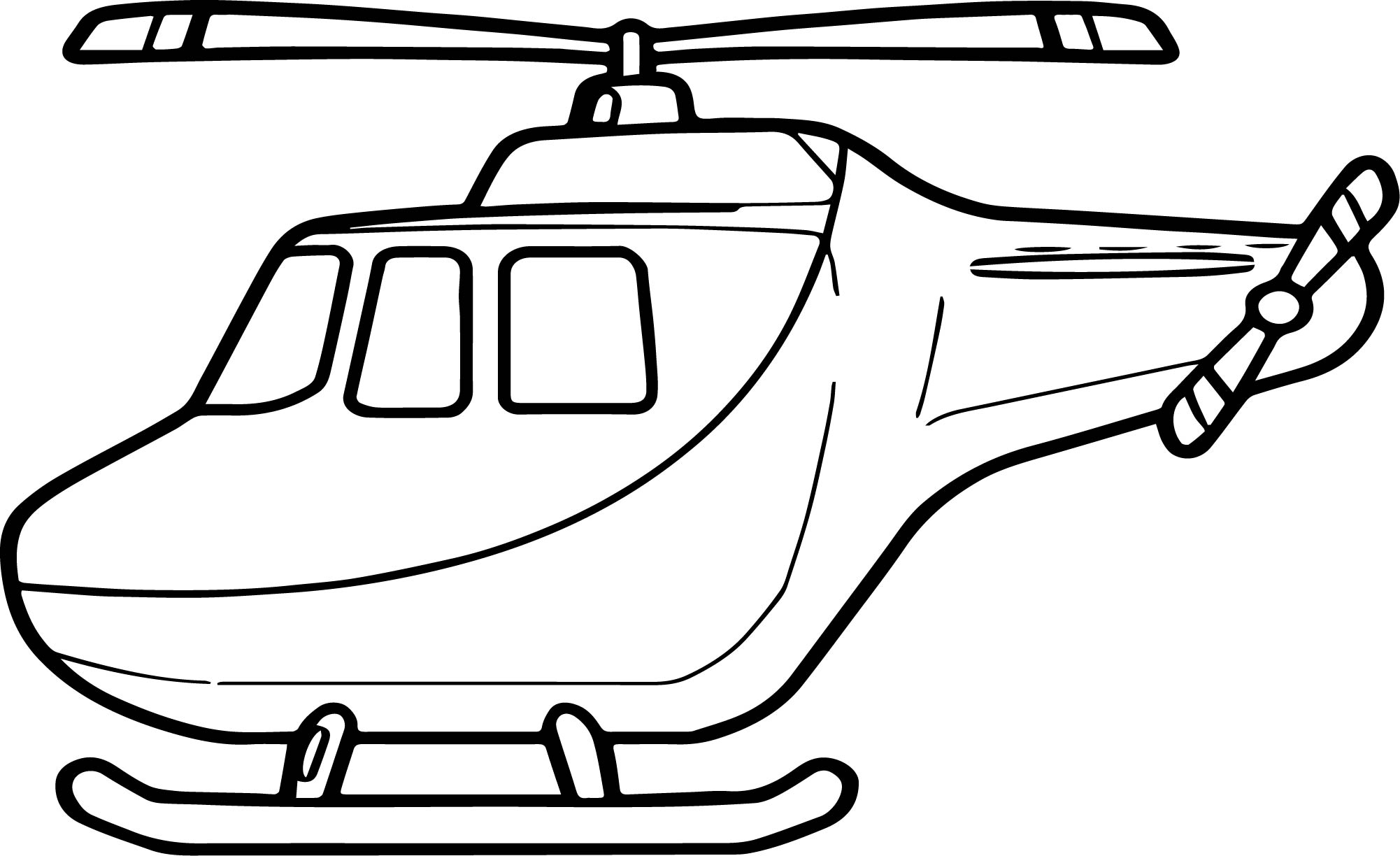 Helicopter Coloring Page 33