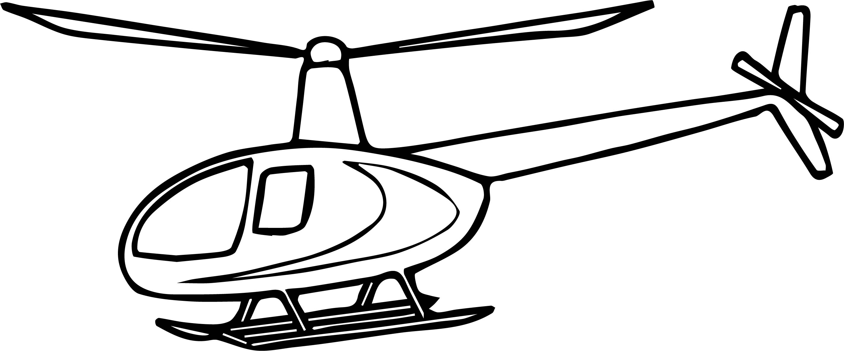 Helicopter Coloring Page 36