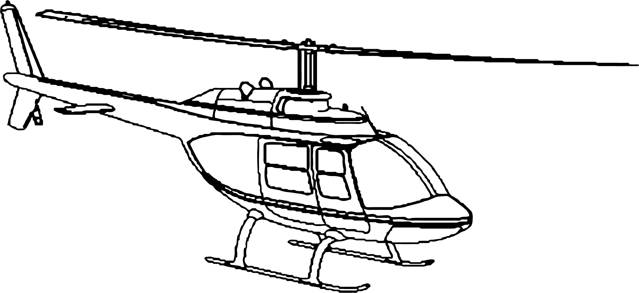Helicopter Coloring Page 40