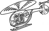 Helicopter Coloring Page 41