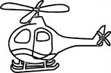 Helicopter Coloring Page 44