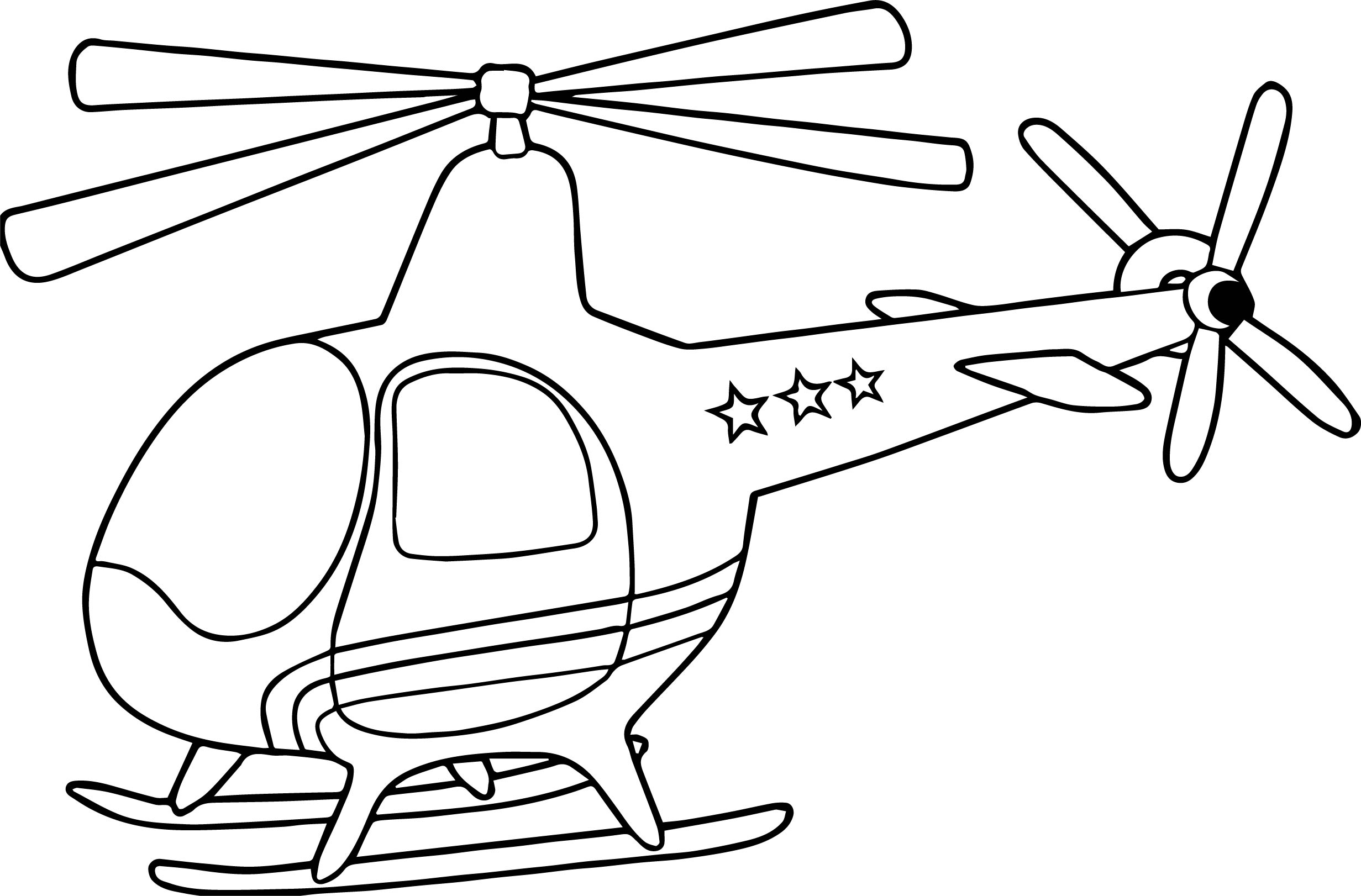 Helicopter Coloring Page 46