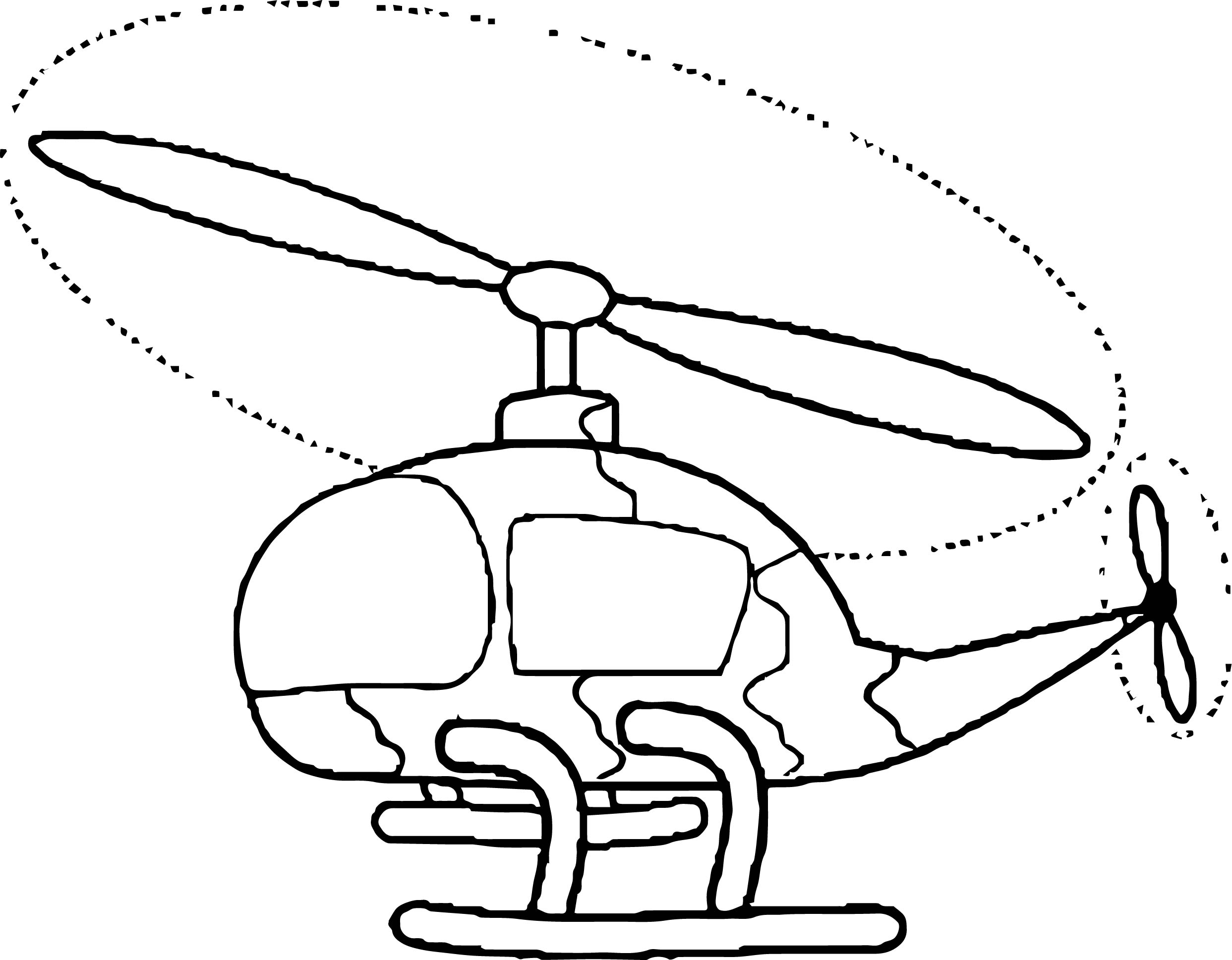 Helicopter Coloring Page 59