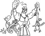 Hercules Catch Creatures Coloring Pages