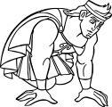 Hercules Kneel Coloring Pages
