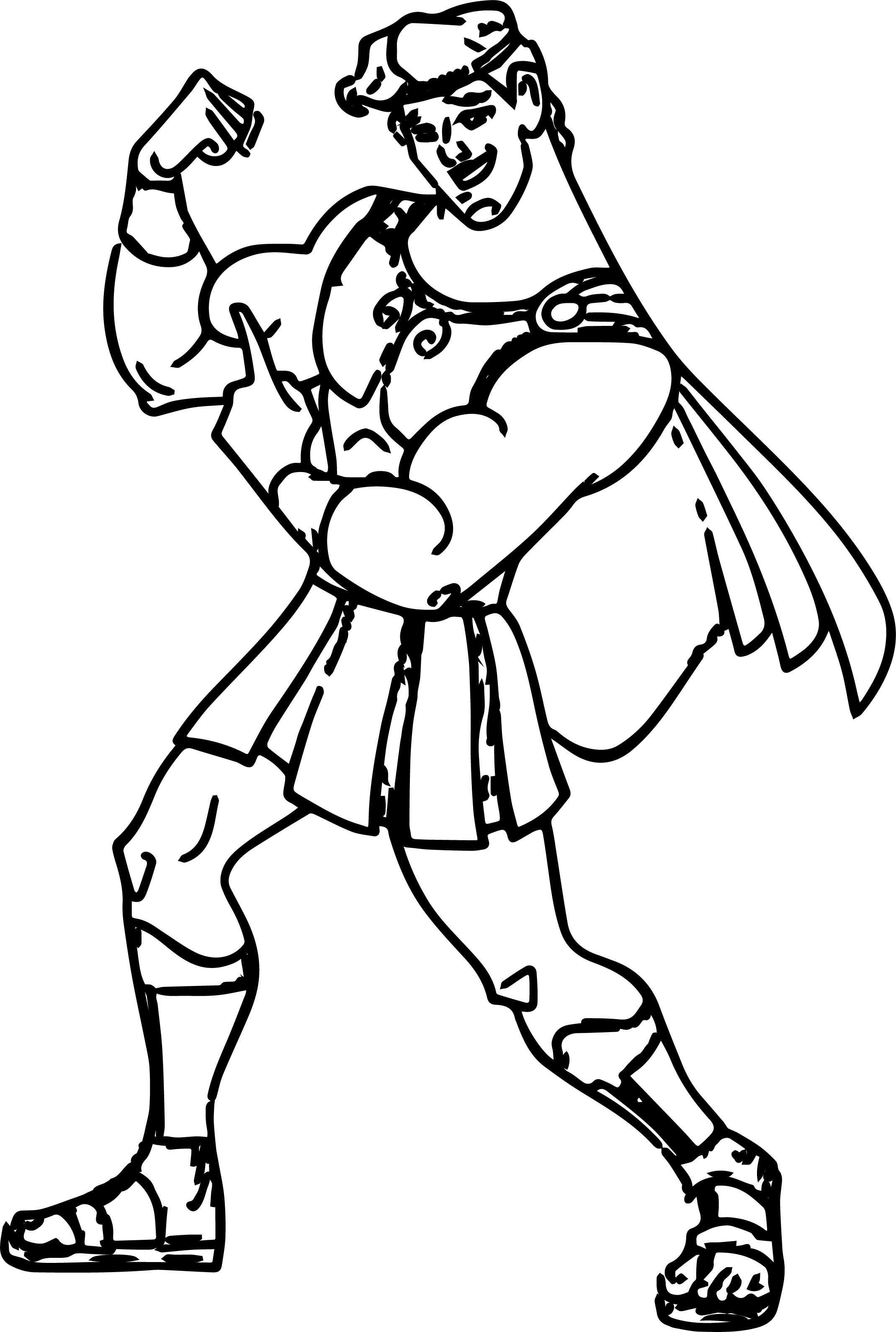 Hercules Mus Coloring Pages