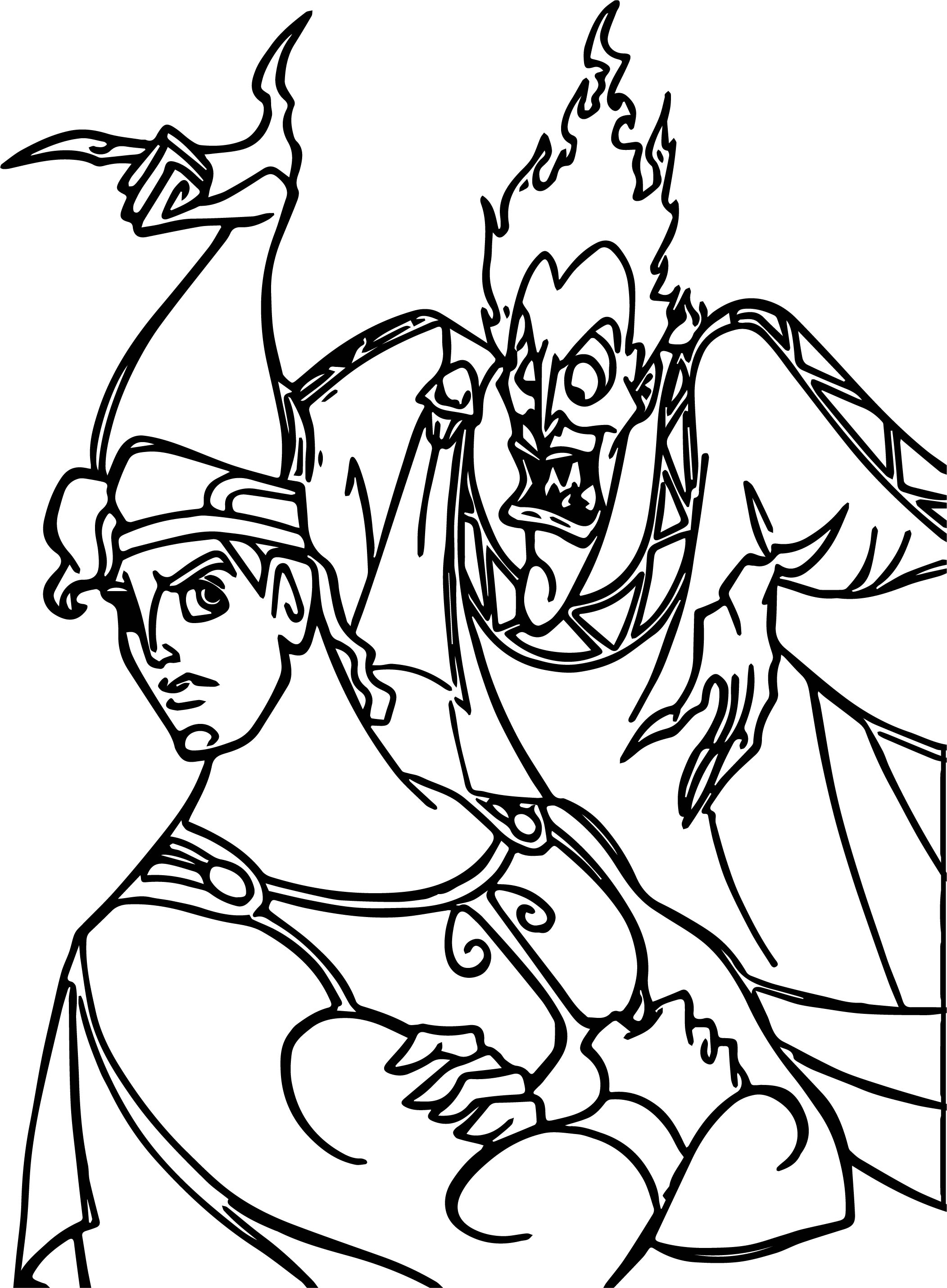 Hercules No Offer Coloring Pages