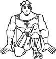 Hercules Ready Coloring Pages