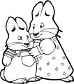 Hi Max Ruby Max And Ruby Coloring Page