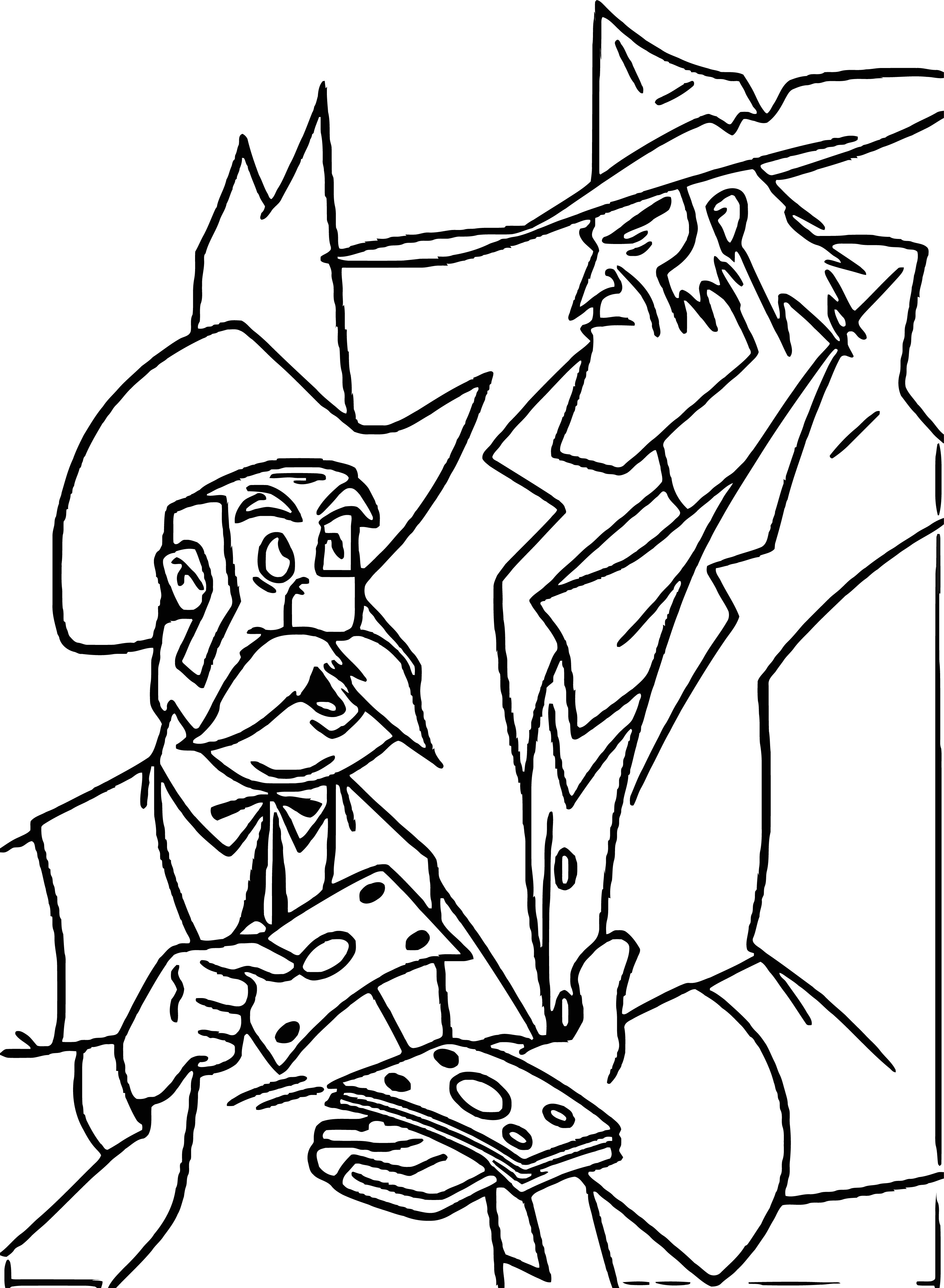 Home On The Range Give Money Man Coloring Page