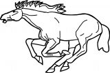 Horse Coloring Page Wecoloringpage 001