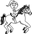 Horse Coloring Page Wecoloringpage 006