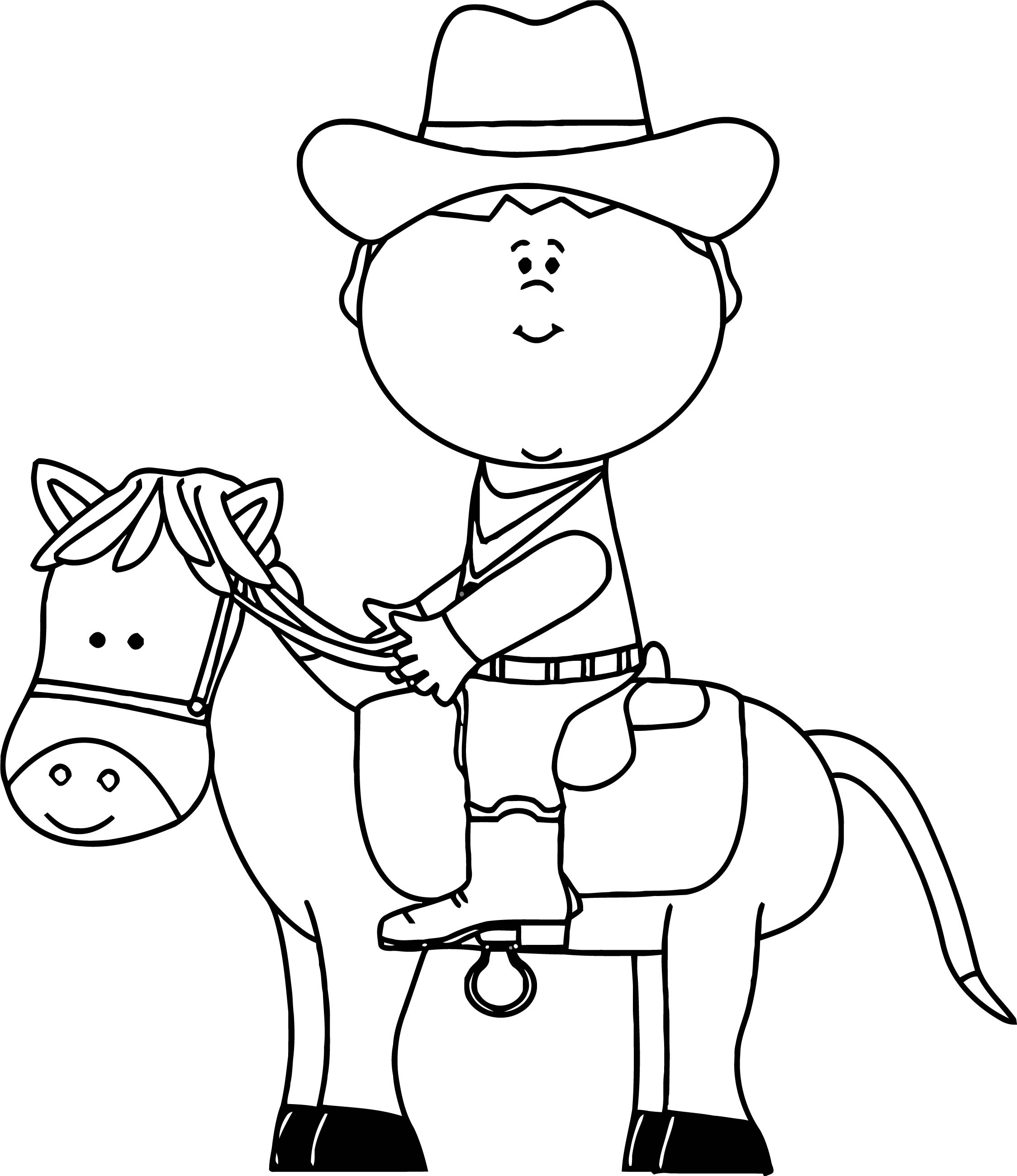 Horse Coloring Page Wecoloringpage 010