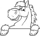 Horse Coloring Page Wecoloringpage 024