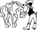 Horse Coloring Page Wecoloringpage 039