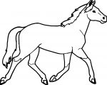 Horse Coloring Page Wecoloringpage 045
