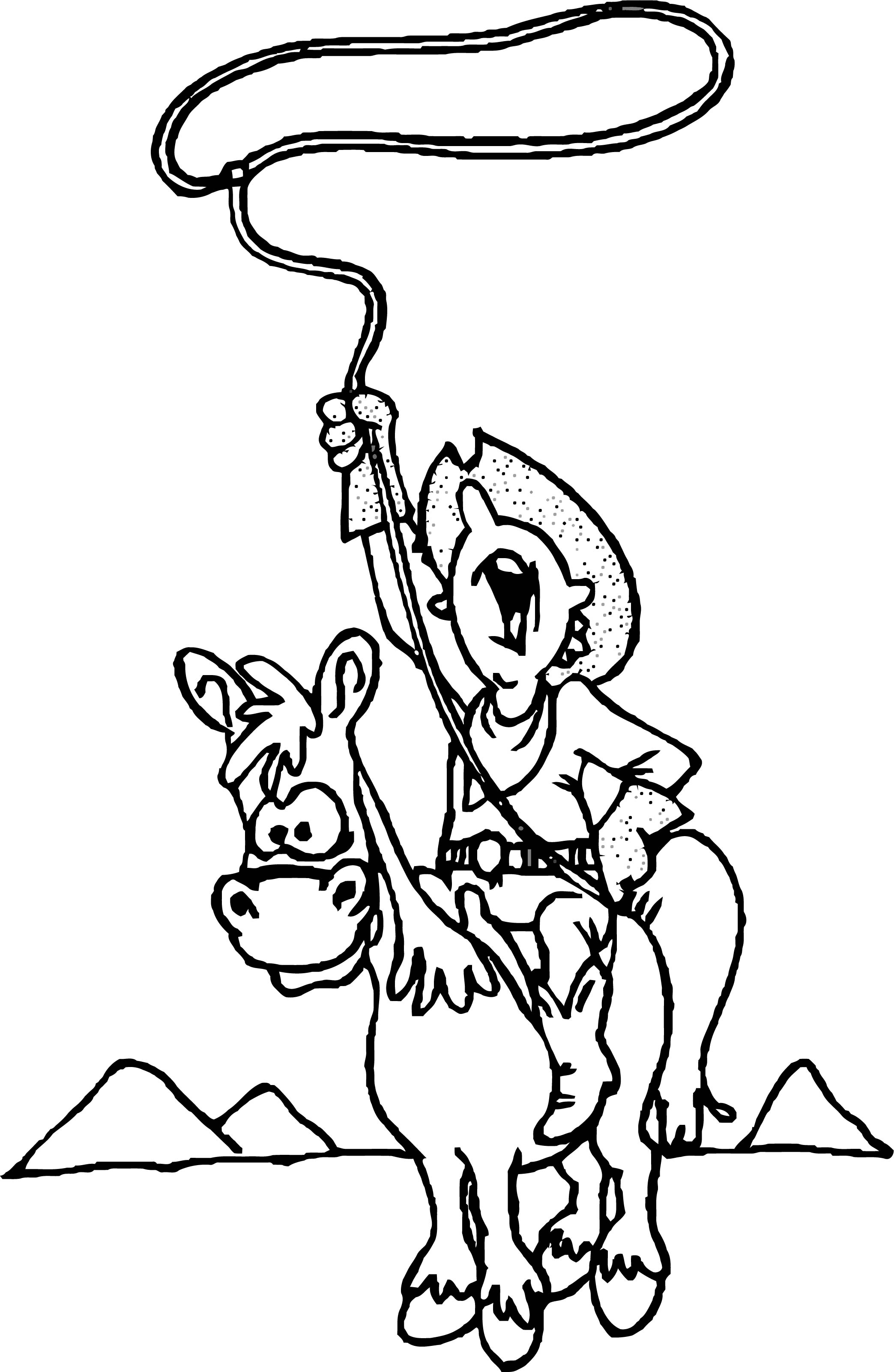 Horse Coloring Page Wecoloringpage 046