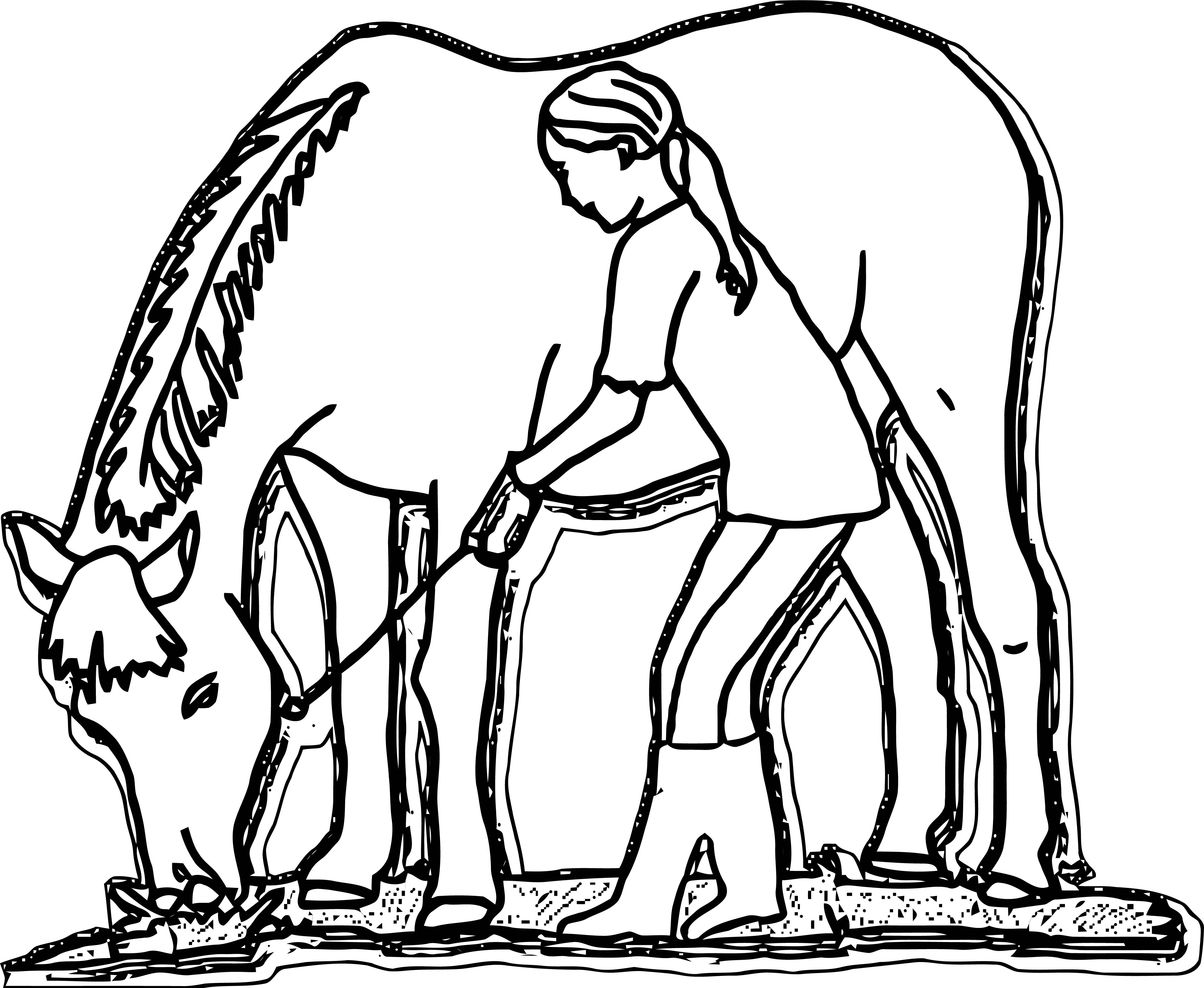 Horse Coloring Page Wecoloringpage 048 | Wecoloringpage.com