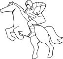 Horse Coloring Page Wecoloringpage 056