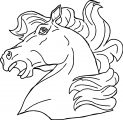 Horse Coloring Page Wecoloringpage 059