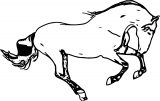 Horse Coloring Page Wecoloringpage 077