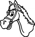 Horse Coloring Page Wecoloringpage 078