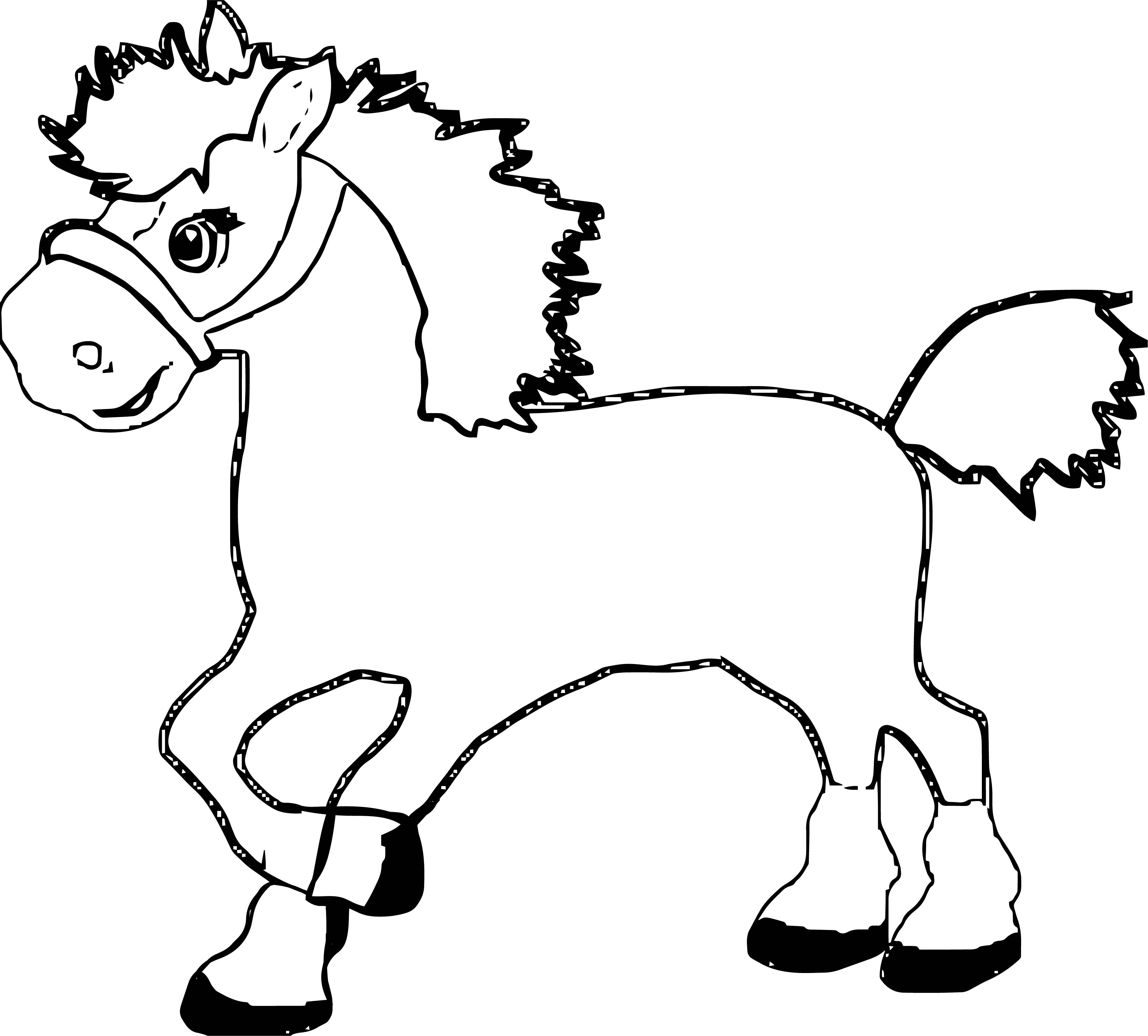 Horse Coloring Page Wecoloringpage 102