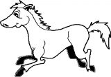 Horse Coloring Page Wecoloringpage 104