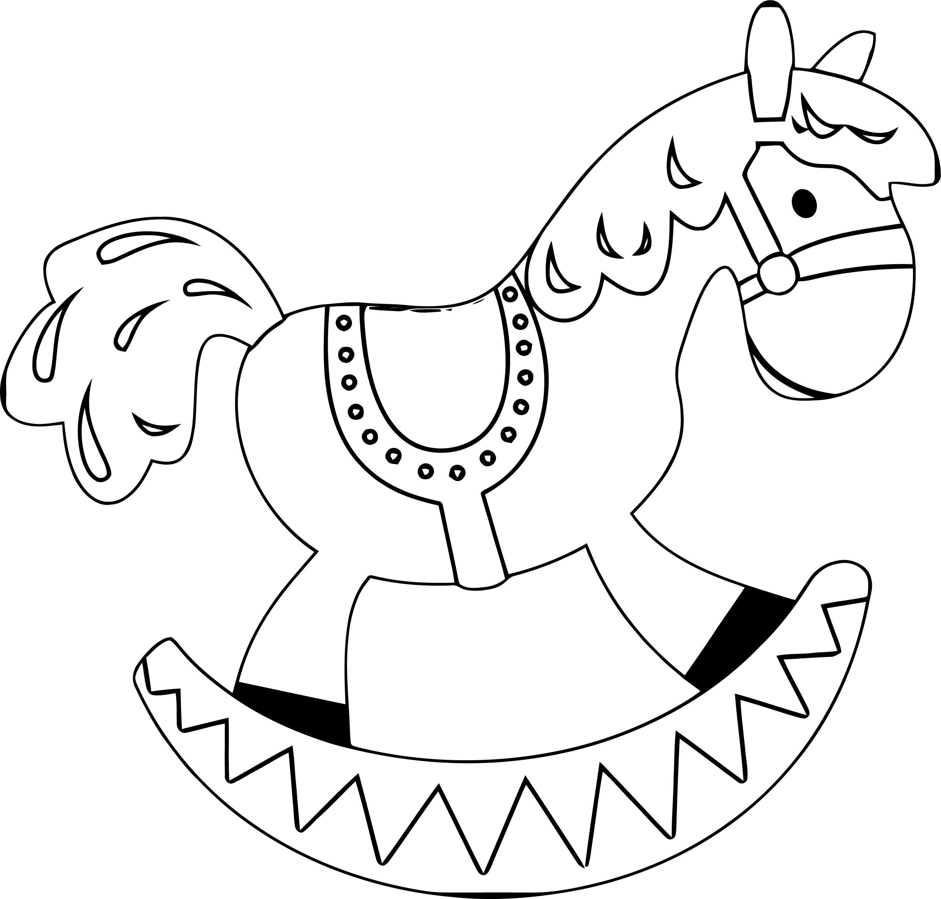 Horse Coloring Page Wecoloringpage 107
