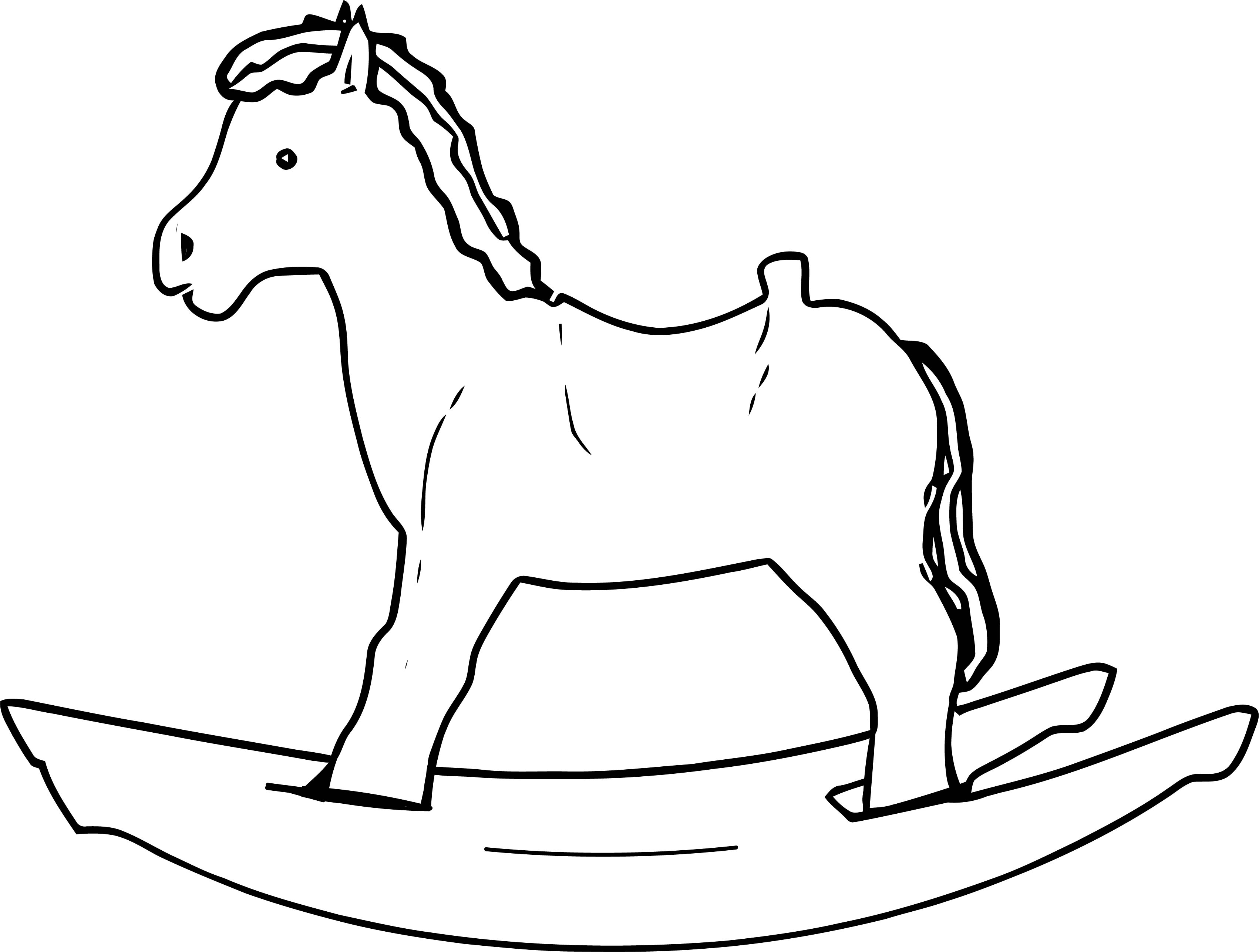 Horse Coloring Page Wecoloringpage 113