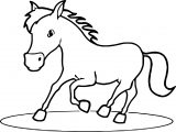 Horse Coloring Page Wecoloringpage 119