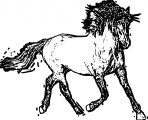 Horse Coloring Page Wecoloringpage 171