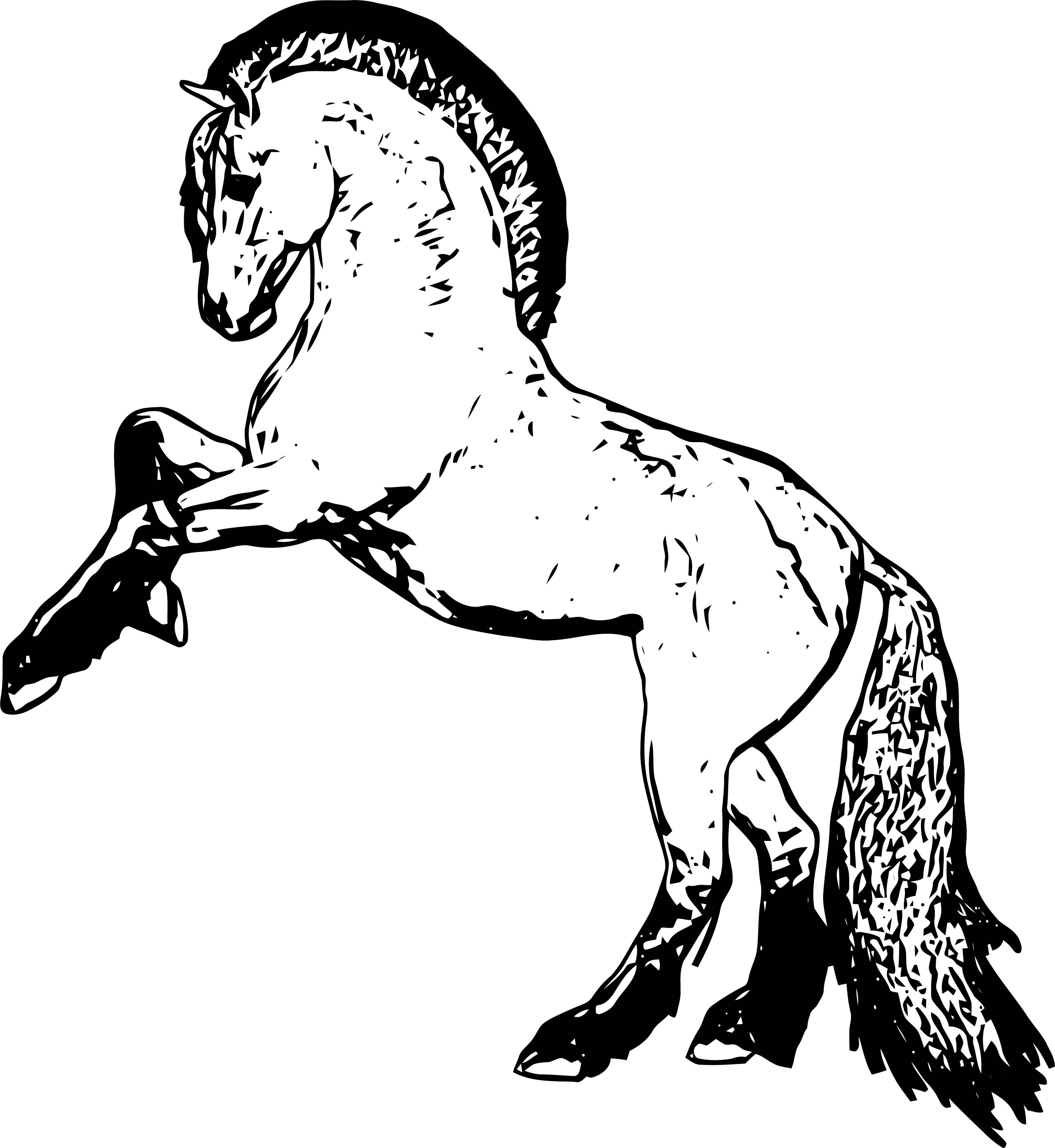 Horse Coloring Page Wecoloringpage 177