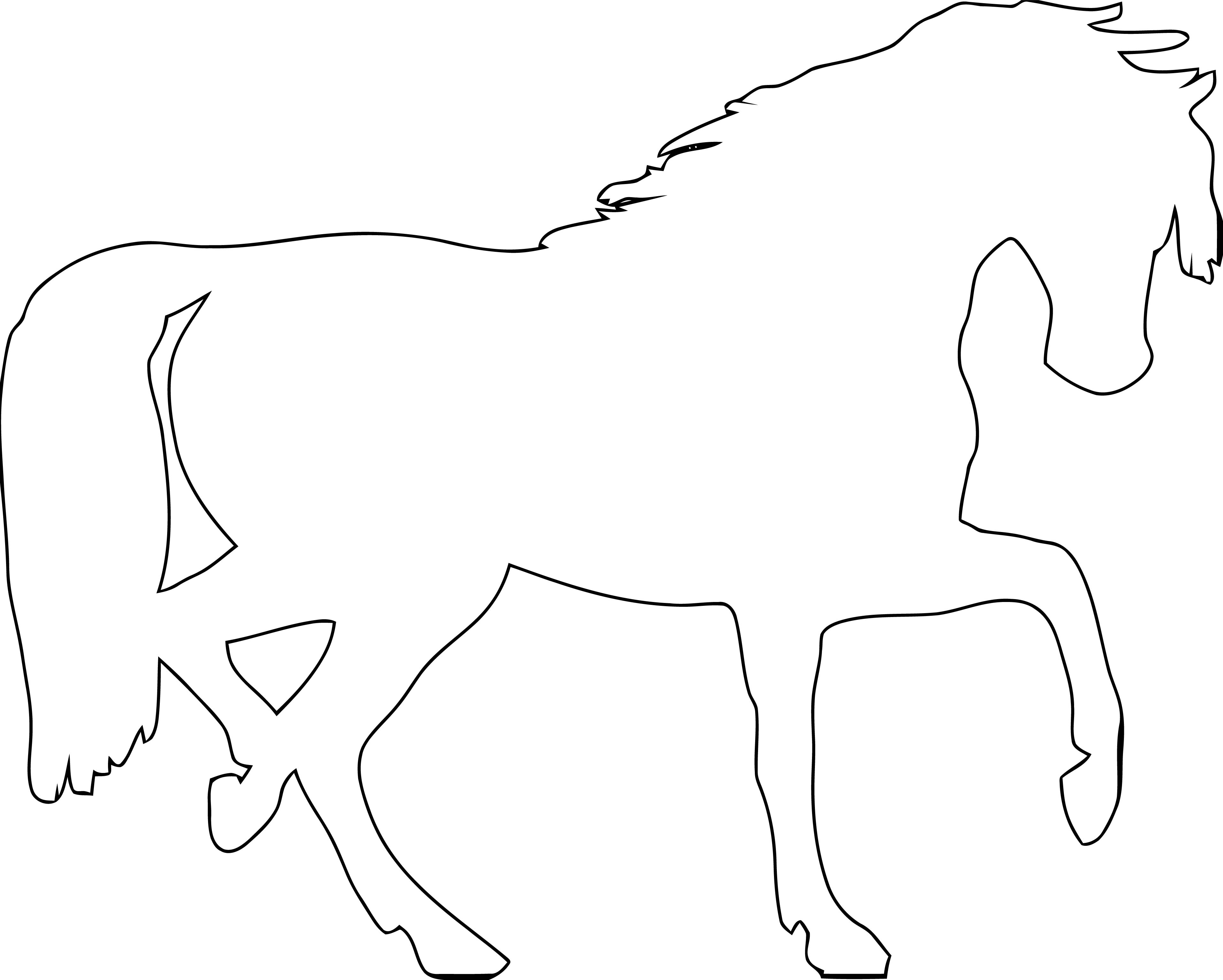 Horse Coloring Page Wecoloringpage 186