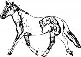 Horse Coloring Page Wecoloringpage 193