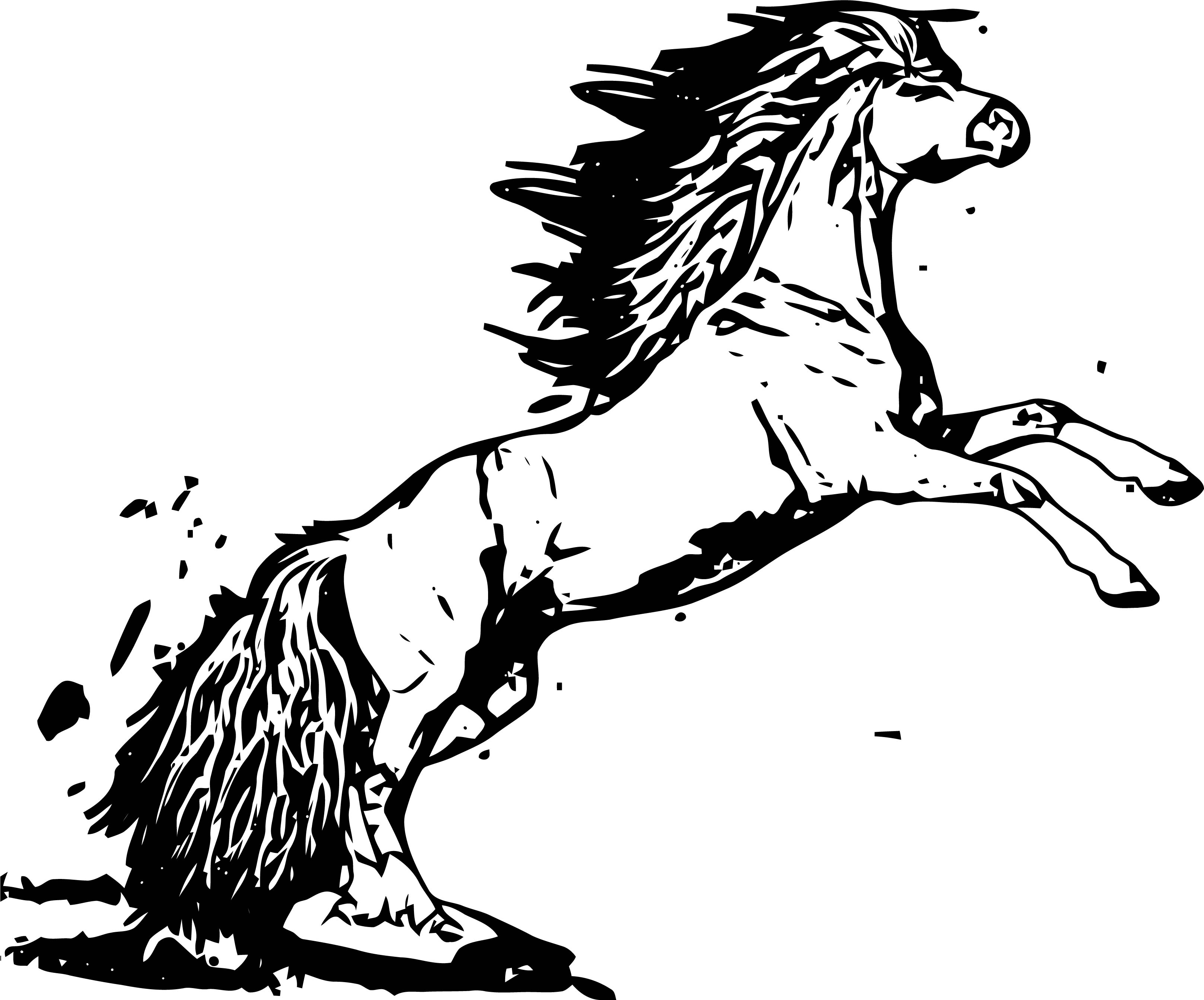 Horse Coloring Page Wecoloringpage 194