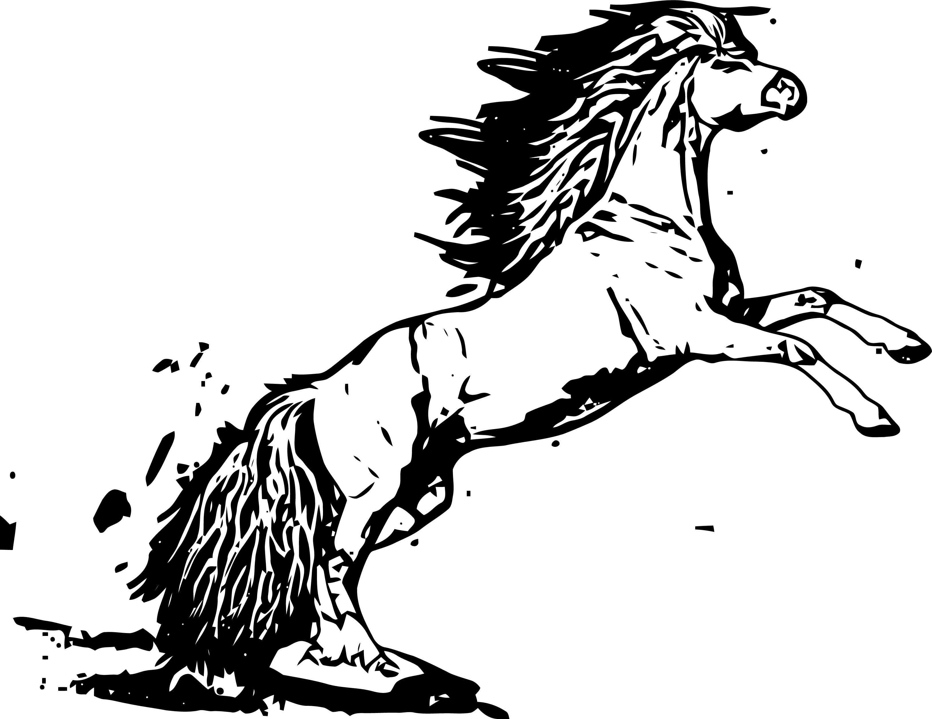Horse Coloring Page Wecoloringpage 207