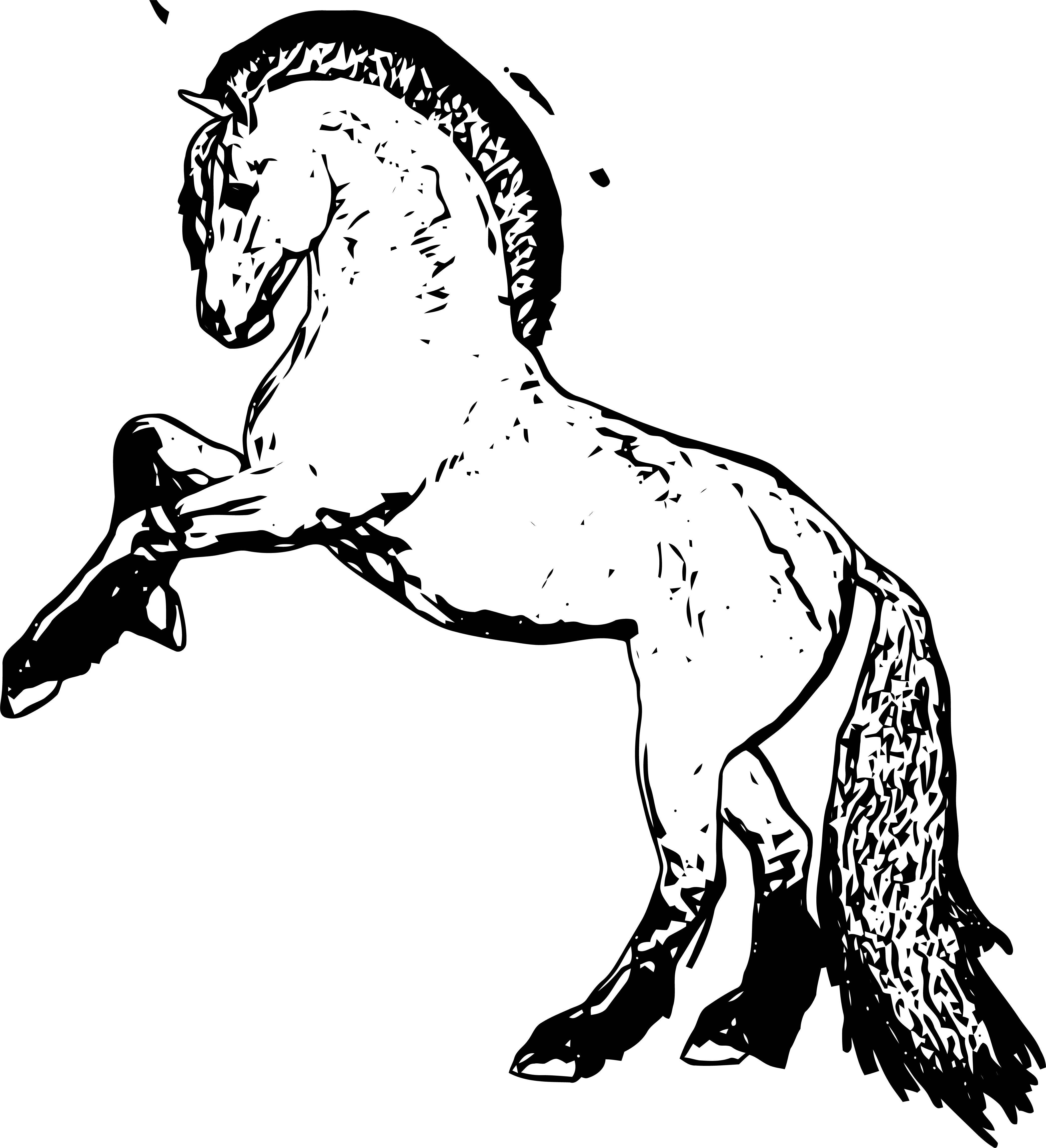 Horse Coloring Page Wecoloringpage 210