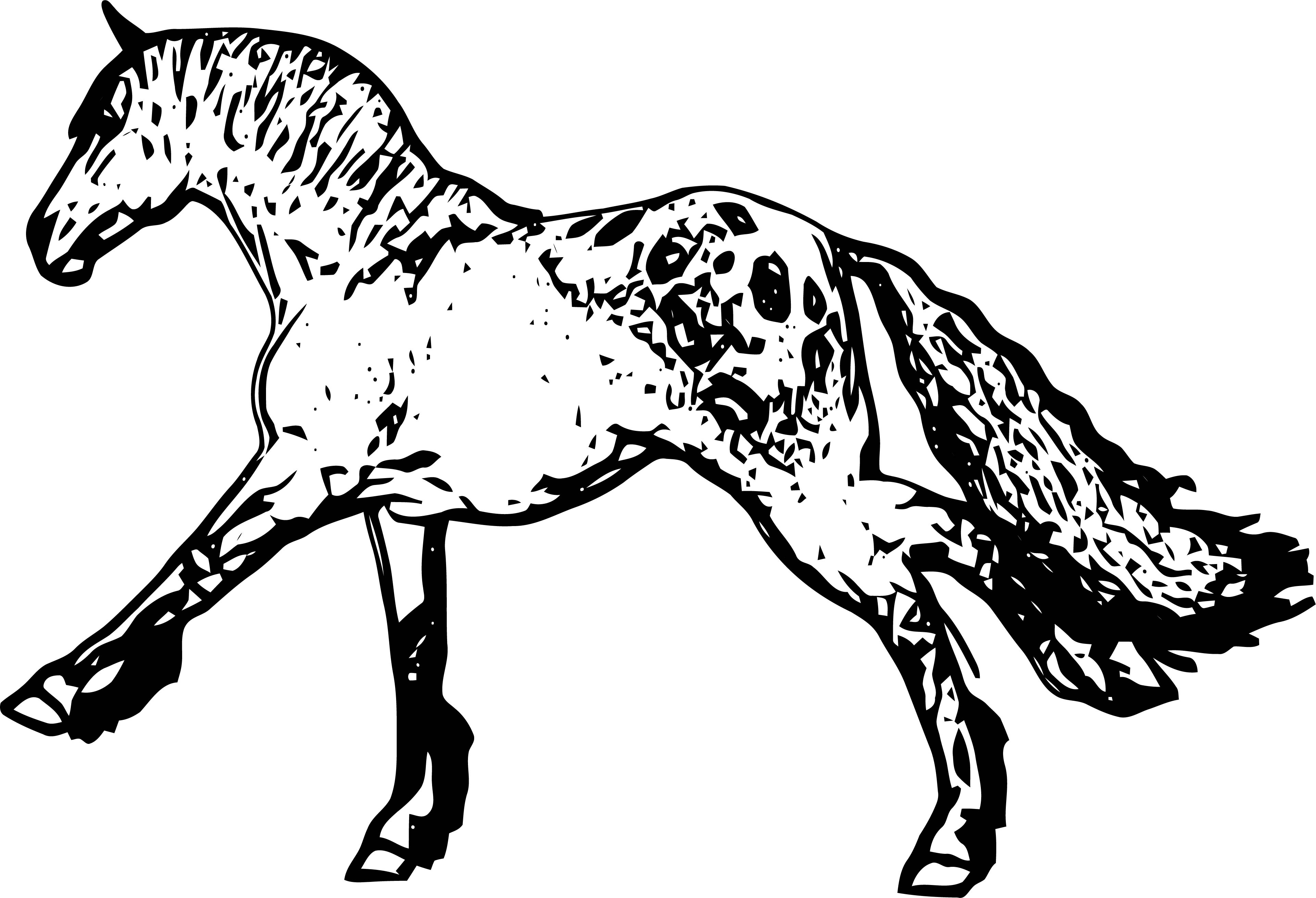 Horse Coloring Page Wecoloringpage 222