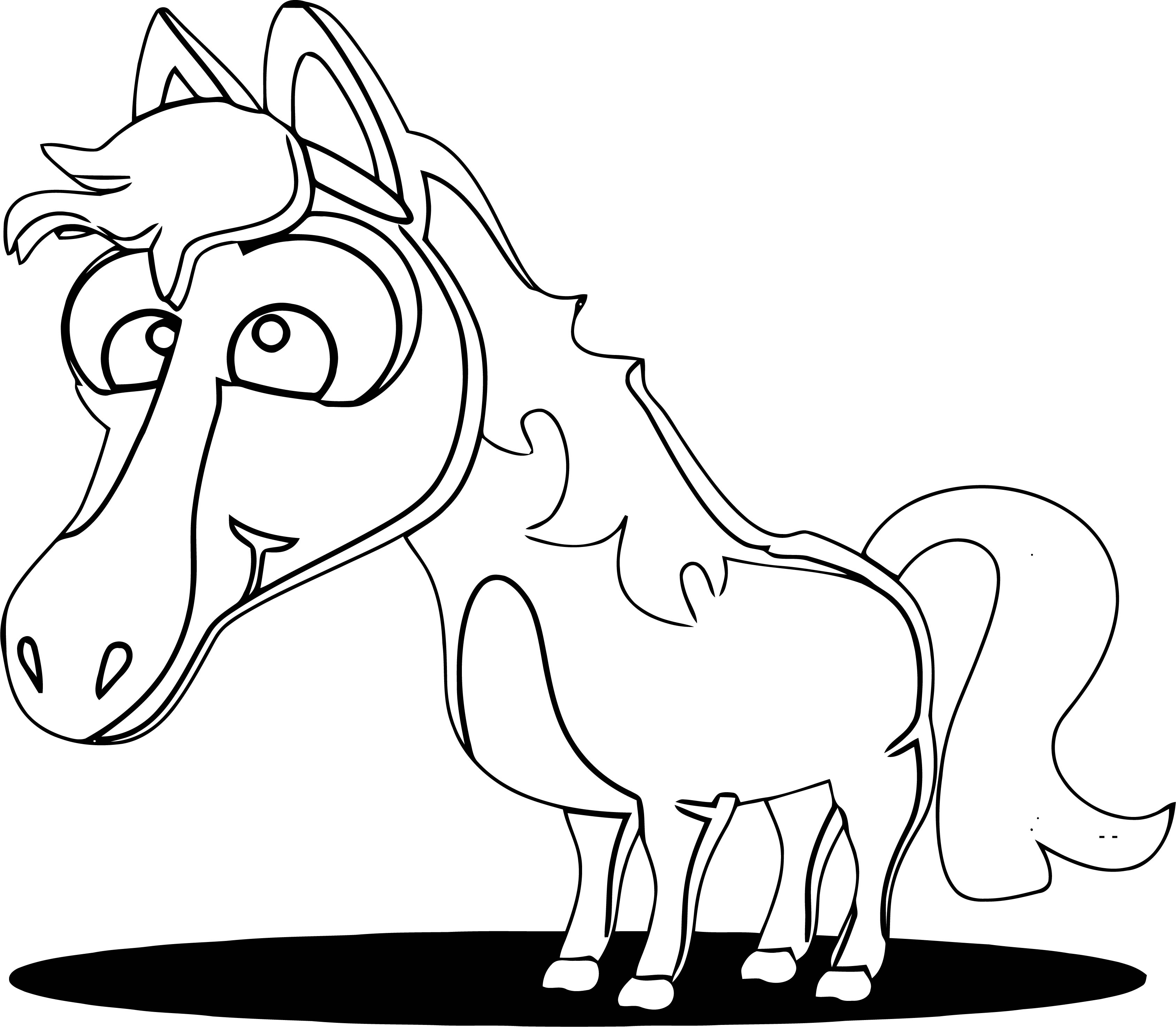 Horse Coloring Page Wecoloringpage 229