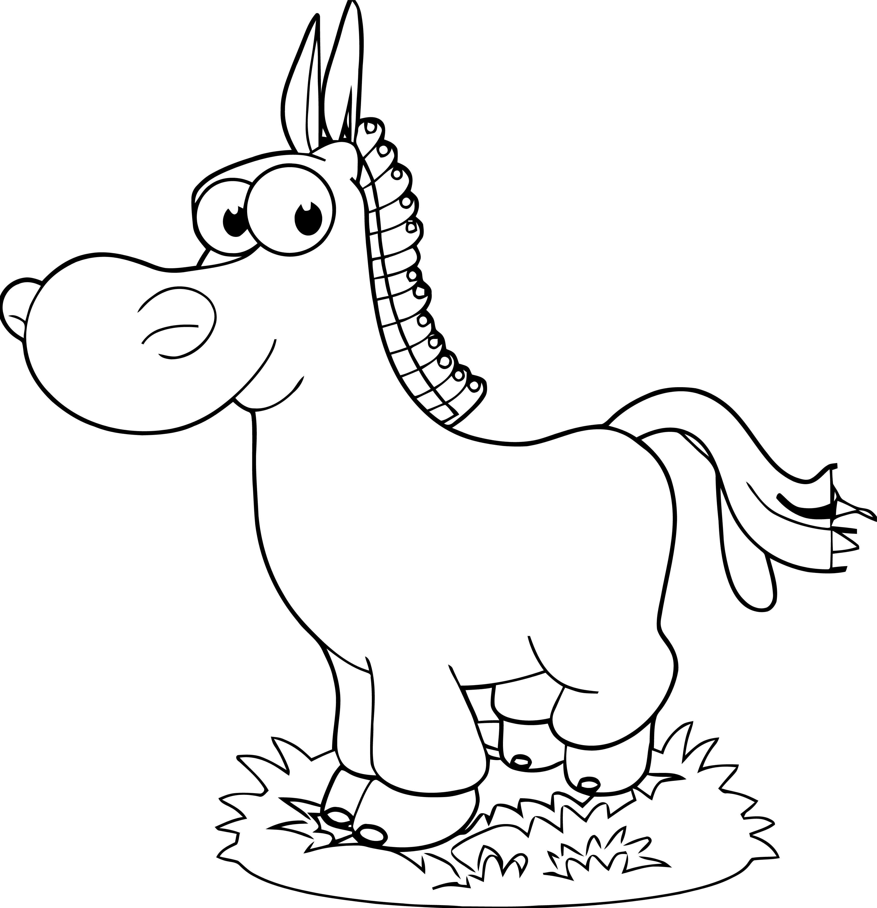 Horse Coloring Page Wecoloringpage 232