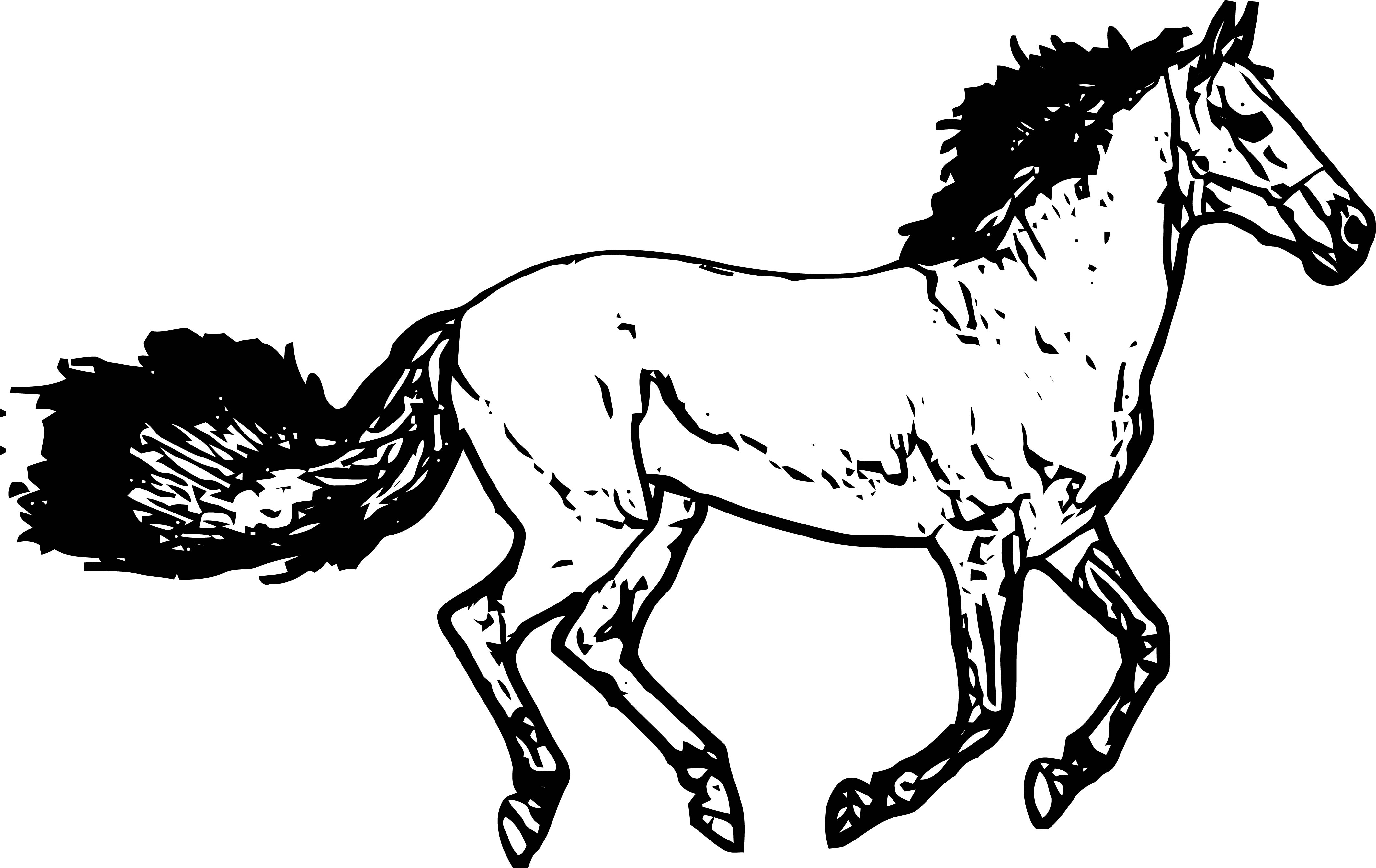 Horse Coloring Page Wecoloringpage 235