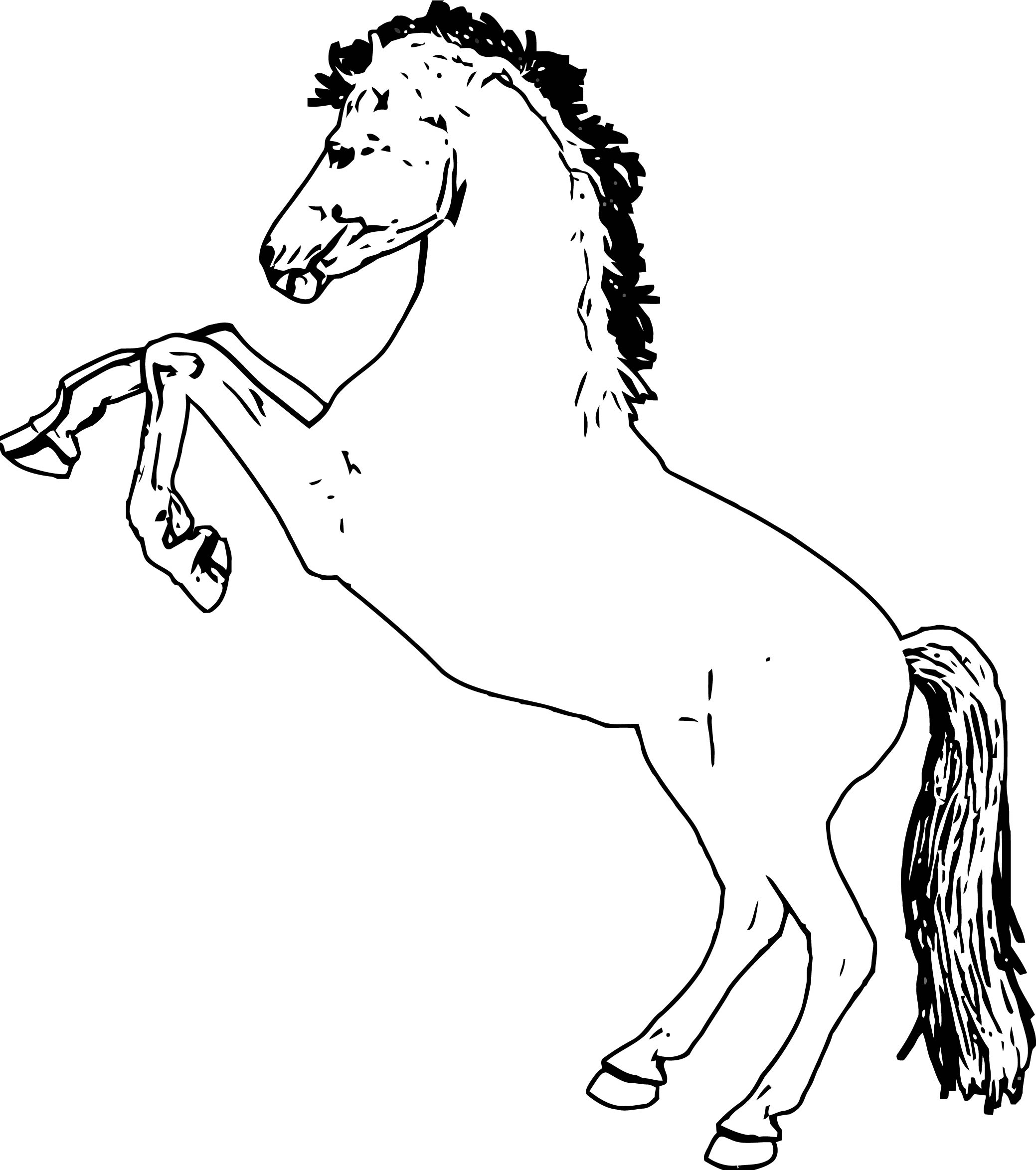 Horse Coloring Page Wecoloringpage 238