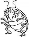 Insect Cartoon Coloring Page