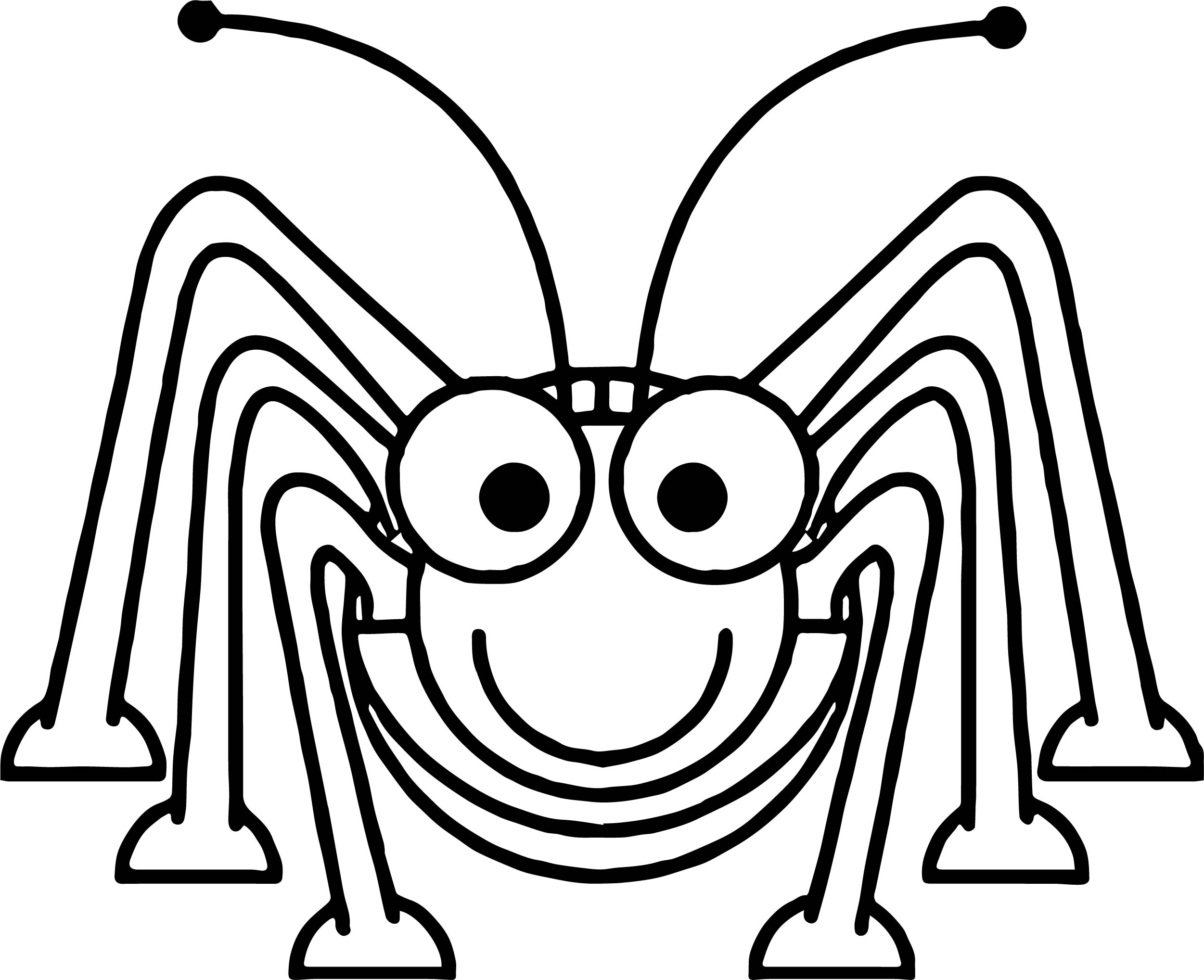 Insect Coloring Page WeColoringPage 02