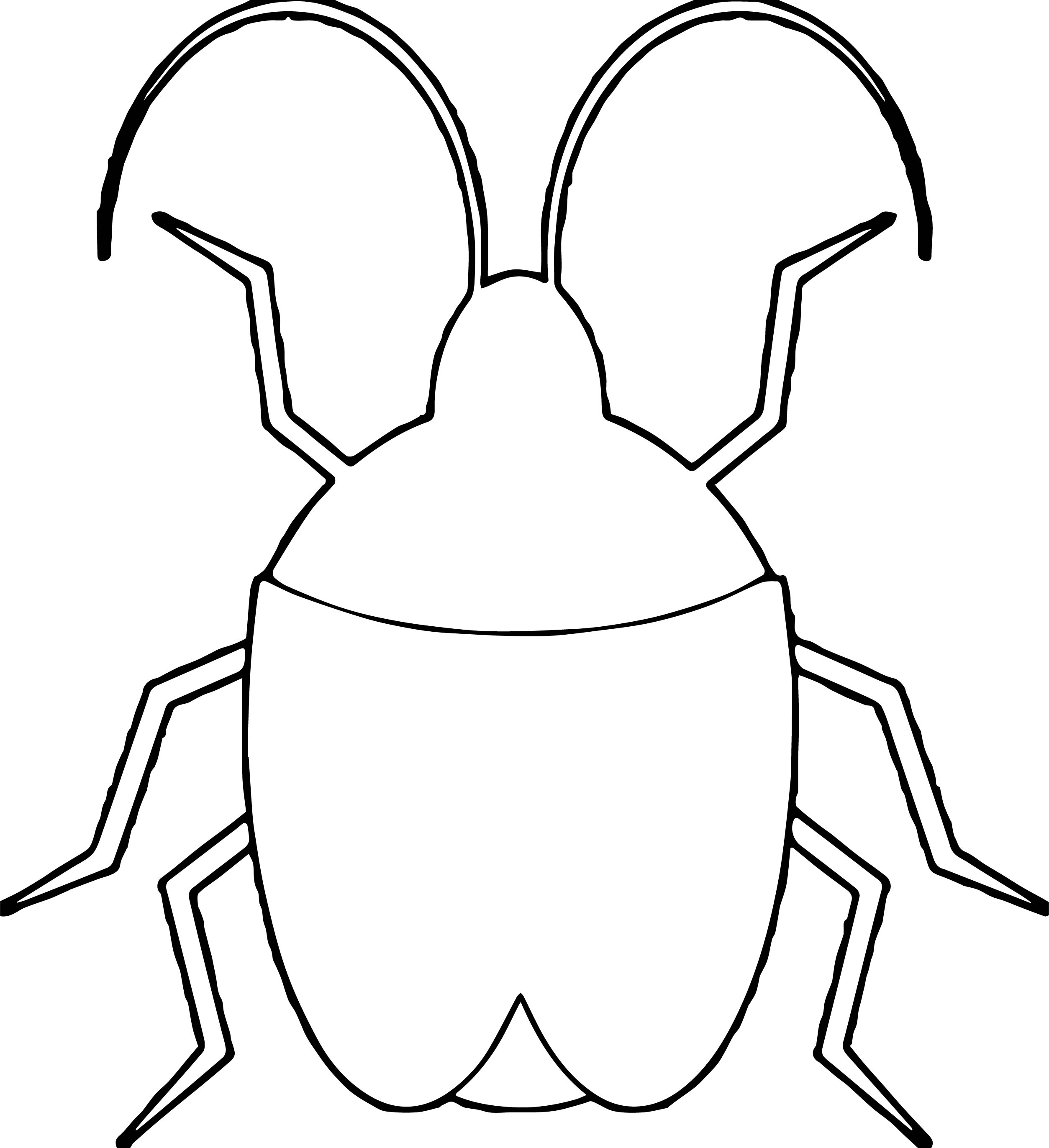 Insect Coloring Page WeColoringPage 26