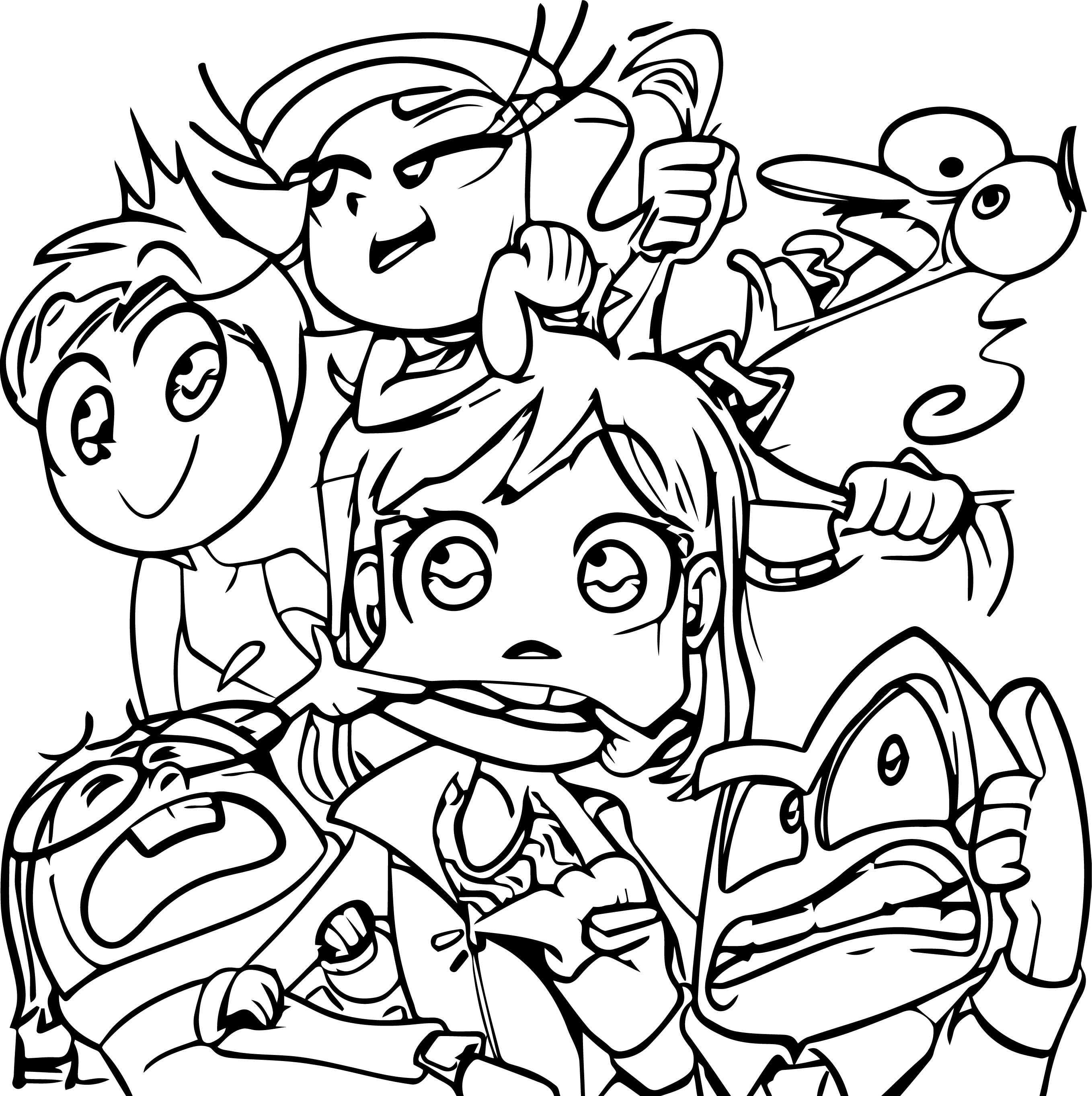 Inside Out Coloring Page Full