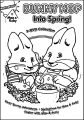 Into Spring Max And Ruby Coloring Page
