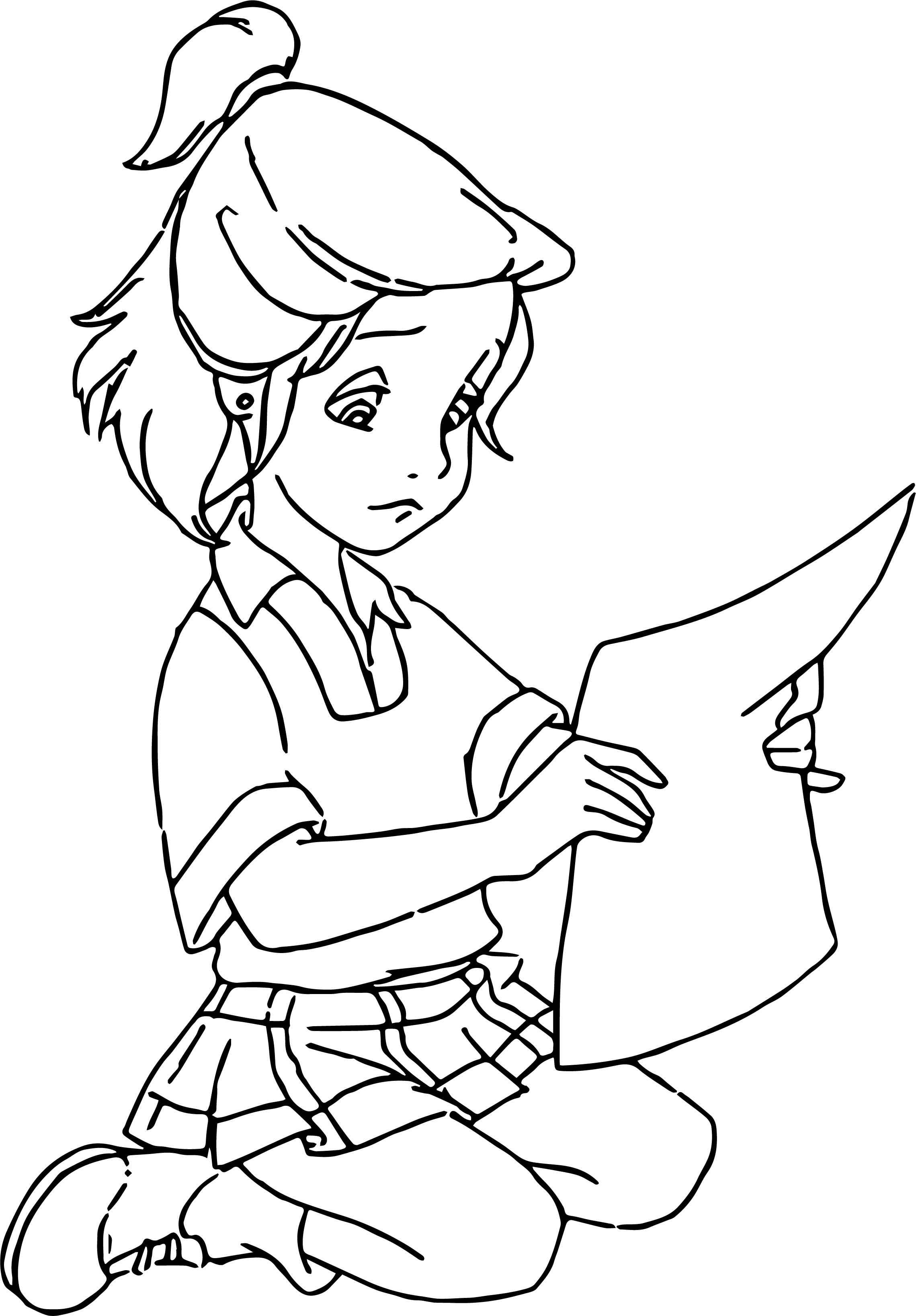 Jenny Girl 1 Coloring Pages