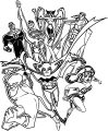 Jl Unlimited Heroes Tp Coloring Page